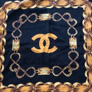 Chanel Chain Scarf